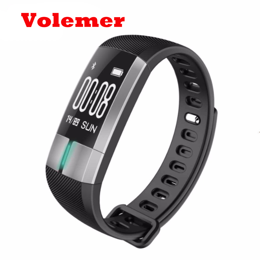 Volemer Smart Band Bracelet G20 Heart Rate Monitor Smart Wristband Fitness Sport Bracelet Touch Pulsometer ECG