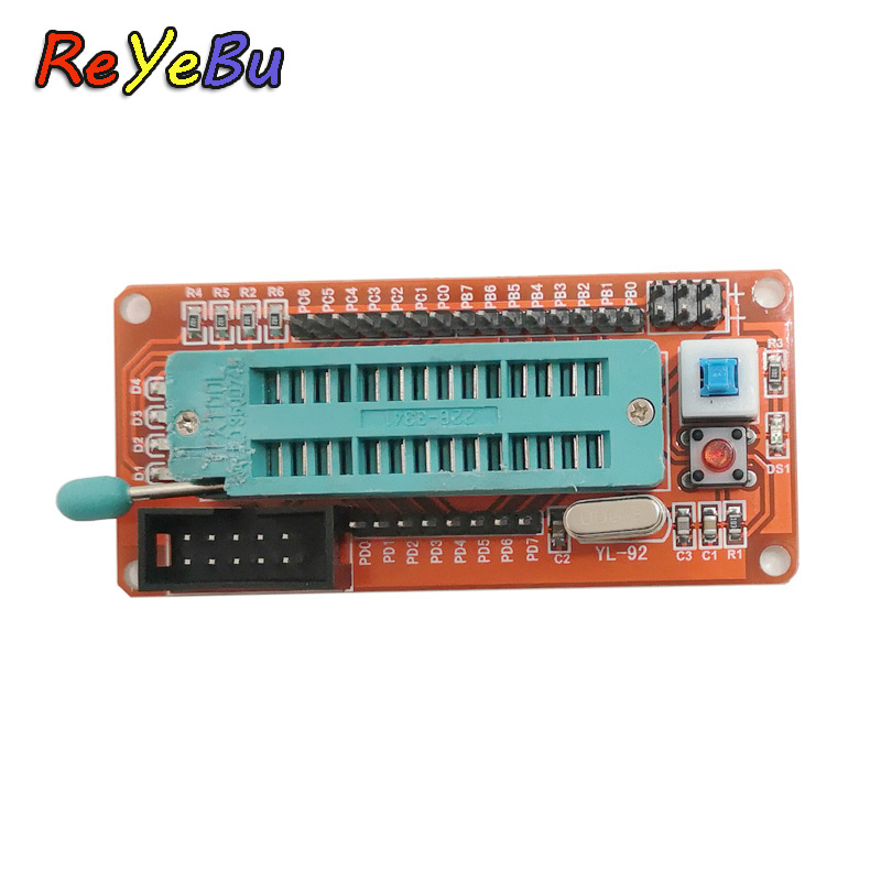 Mininum AVR Systerm Development Board for ATMEL Atmega32 Atmega8 Mega8