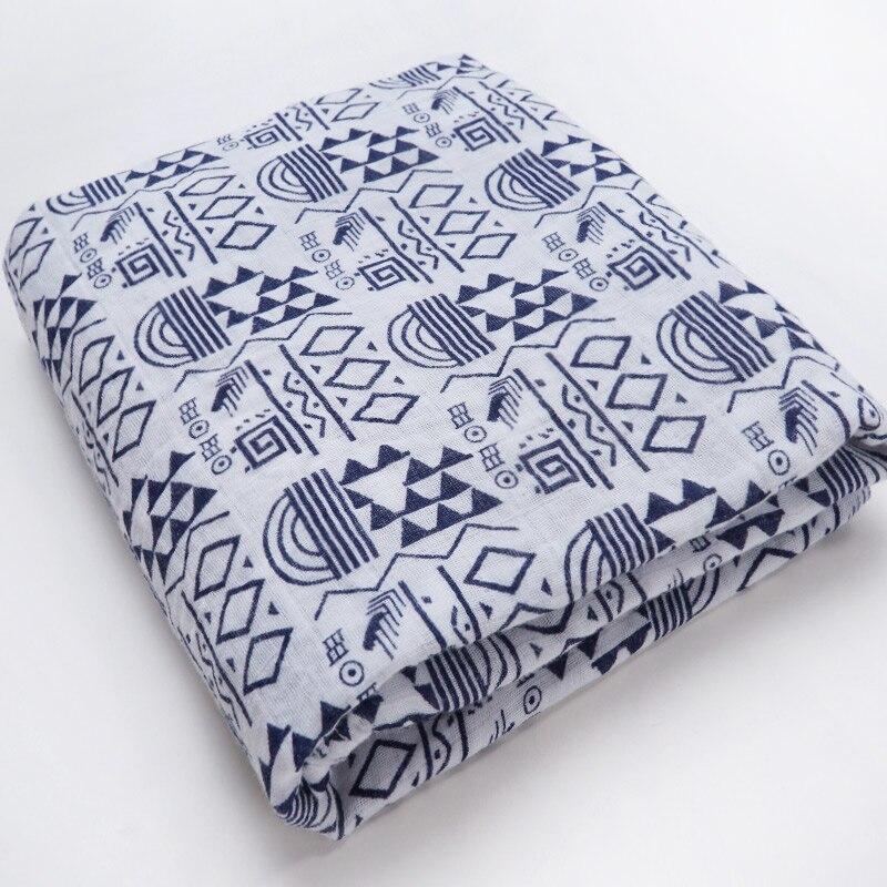 Новинка; хлопковые Супермягкие подгузники из муслина; детское одеяло; Банное полотенце; пеленка; аксессуары для детской кровати; детское одеяло для новорожденных - Цвет: Polygon