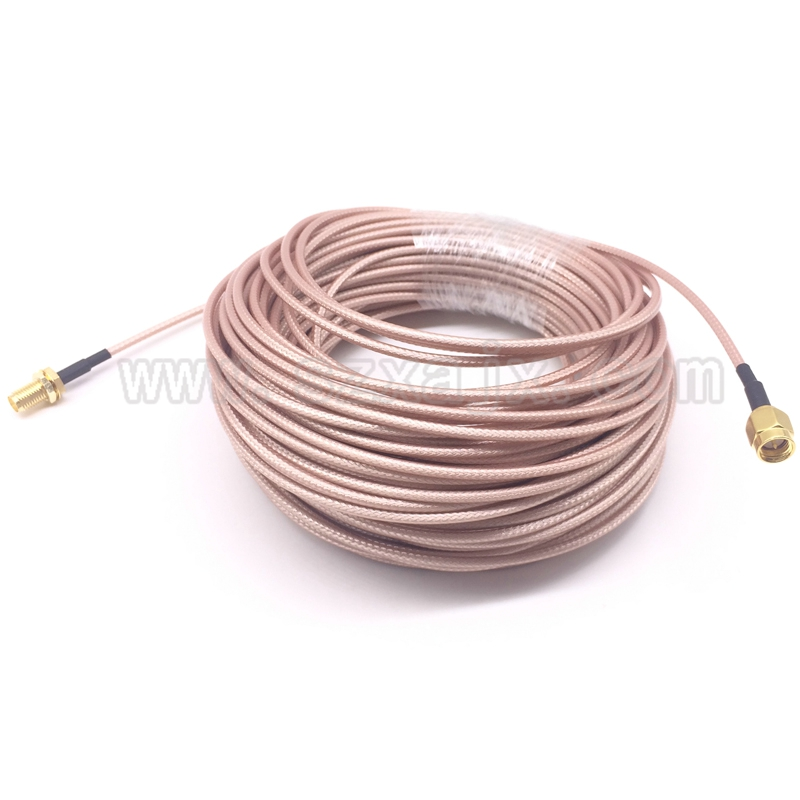 JX Antenna extension cord RF coaxial Cable SMA male to SMA female RG316 cable 10m for 3G 4G WIFI antenna SMA connector Pigtail(China)