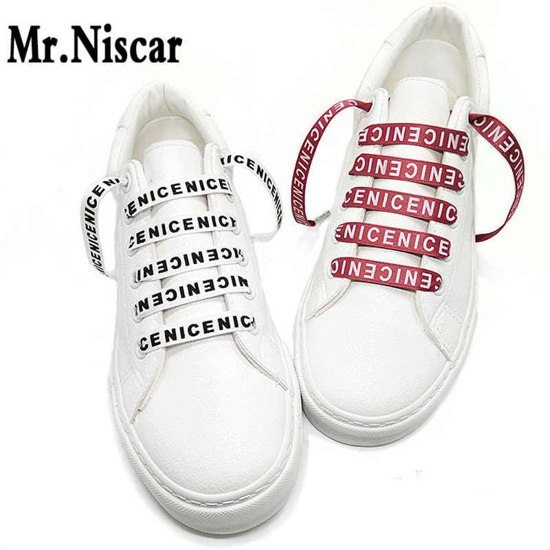 Cheap 1 Pair 1CM Wide Flat Shoelaces