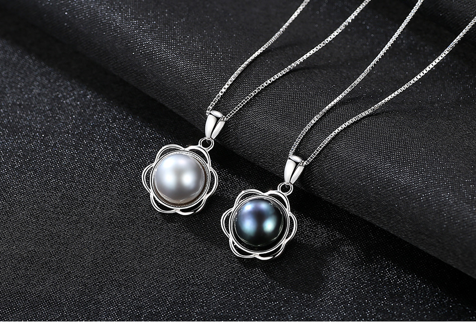 S925 sterling silver pendant versatile fashion necklace silver jewelry accessories CHB01