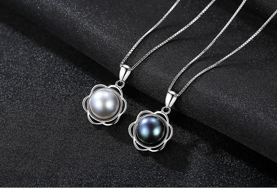 S925 pendentif en argent sterling collier de mode polyvalent accessoires de bijoux en argent CHB01