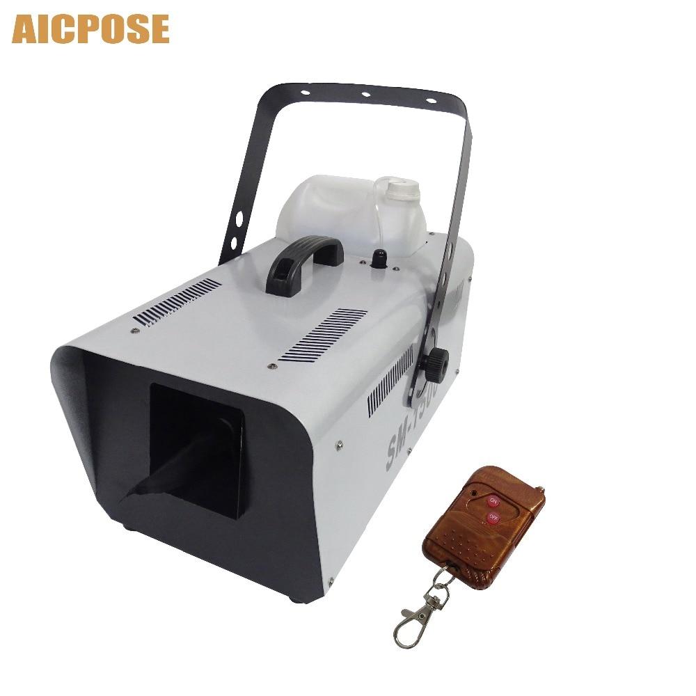 1500W Snow Machine Special Stage Effect Equipment Snowmaker Spray Snow Soap  Foam Effect Machine Disco Wedding Show b2021454c2ec