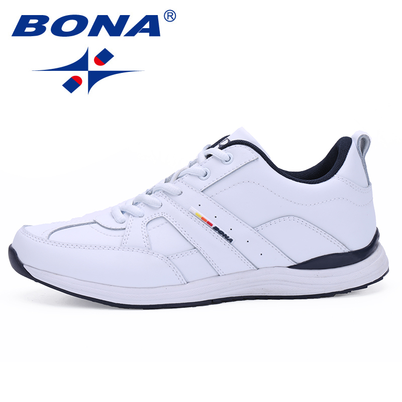 BONA New Arrival Typical Style Men Running Shoes Outdoor Walking Jogging Sneakers Comfortable Athletic Shoes Fast Free Shipping