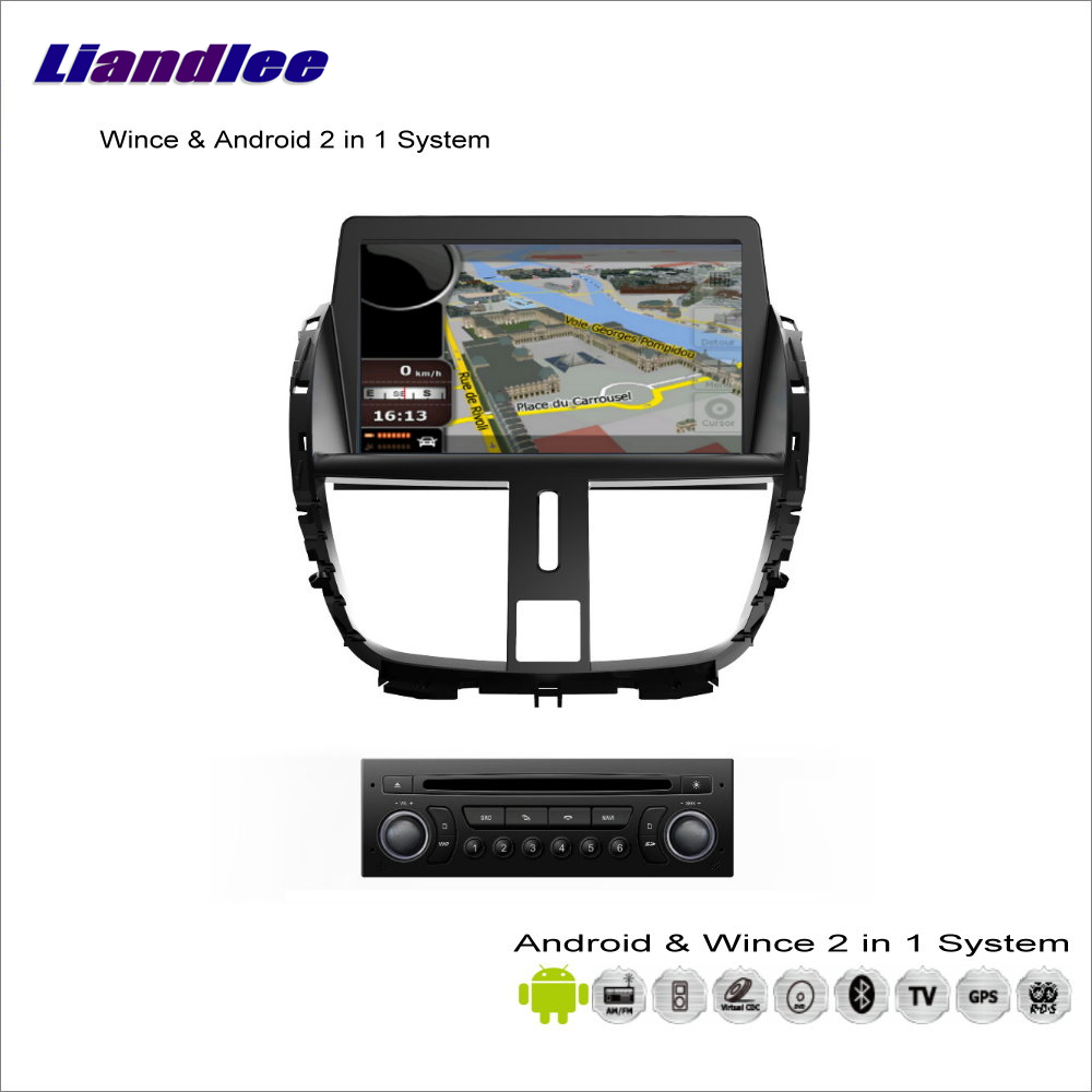 Liandlee Android Multimedia Stereo For Peugeot 207 / 206+ 2009~2013 Radio CD DVD Player GPS Navigation Audio Video S160 System