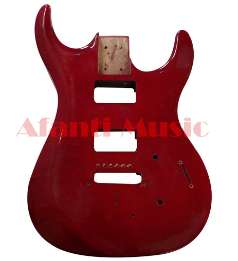 Afanti Music red color Electric guitar Body (ADK-008)