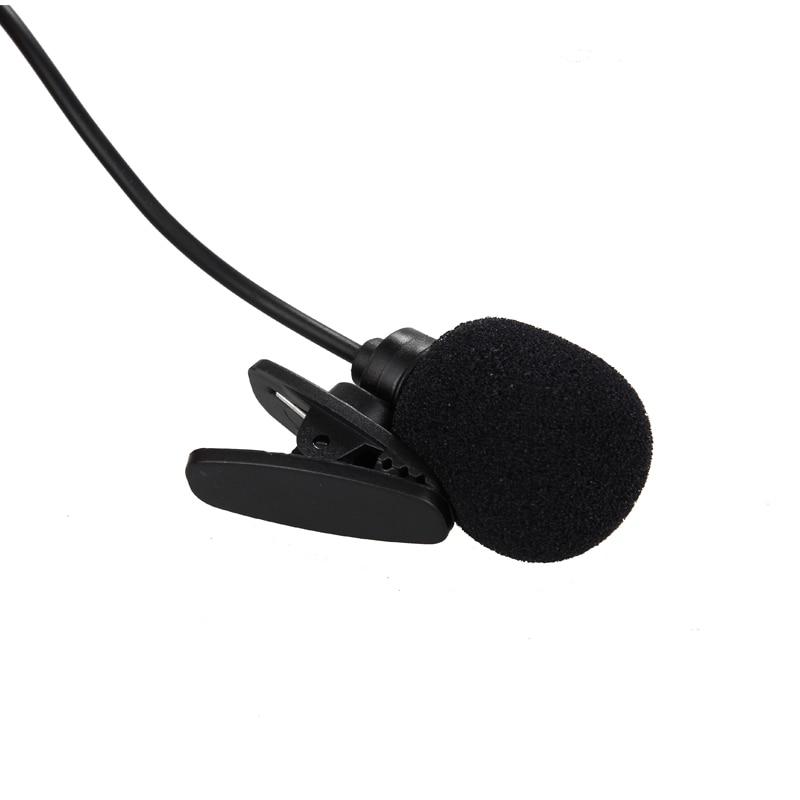 HANGRUI 3.5mm Wired Lapel microphone Studio lavalier condenser Microphones yaka mikrofonu for Smartphone Laptop micro cravate (6)