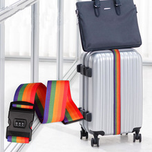 Adjustable Luggage Strap Password Belt Packing Travel Access