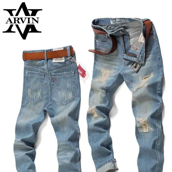 Mens Skinny jeans 100% Cotton High grade Lightweight denim jeans ...