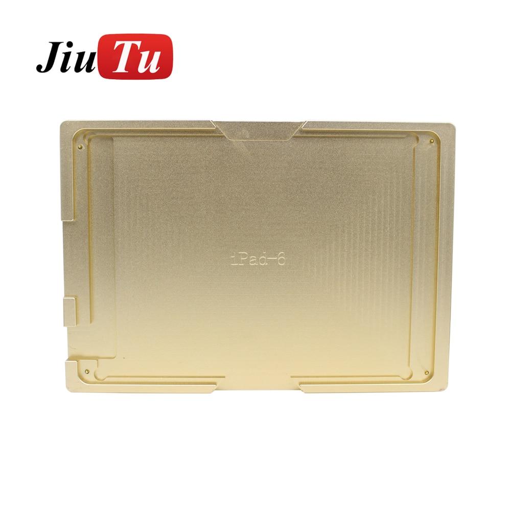 Für Ipad Air 2 (ipad 6) Metall Aluminium Loca Uv Kleber Ausrichtung Lcd Outer Glas Linse Form Schimmel Reparatur Gebrochen Display Digitizer