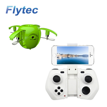 Flytec RC130WH 2.4G 4CH Mini Foldable Drone with HD Camera Wifi Transmission Apple Shaped RC Quadcopter