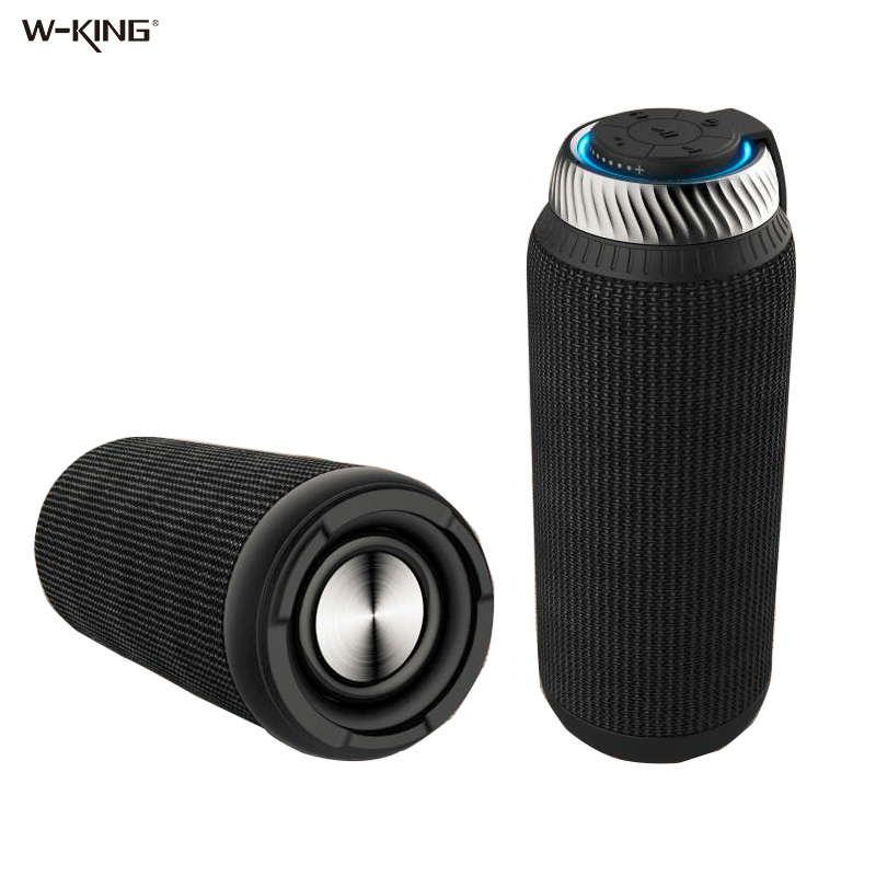 W-king Speakers Portable Bluetooth Speaker 20W Subwoofer mini Wireless Speaker for phones Support TF Card AUX Computer Speakers