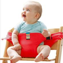 Baby Chair Portable Infant Seat Product Dining Lunch Chair/Seat Safety Belt Feeding High Chair Harness baby feeding chair