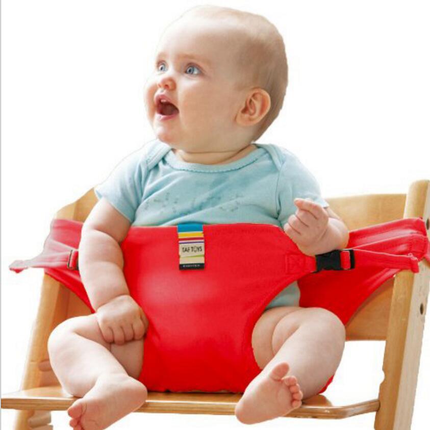 Chaise bébé Portable Infantile Siège Produit Salle de Déjeuner/Ceinture de Sécurité Sécurité Nourrir Chaise Haute Harnais bébé chaise d'alimentation