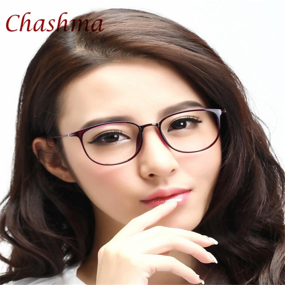 Chashma Brand Simple Design Brýle Women Transparent Frame Fashion ULTEM Flexibilní brýle Pánské optické brýle