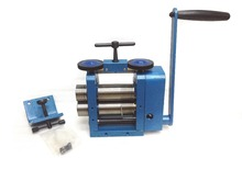 BLUE Rolling Mill ( 4 ROLLERS ) ,hand operated Rolling Mill