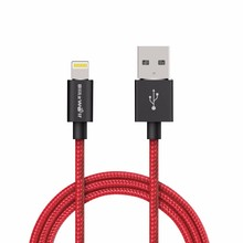BlitzWolf 3.33ft/1m MFI Certified Braided Charger USB Data Cable For iPhone 6/6S For iPhone 6/6s Plus 5/5S/5C USB Cables