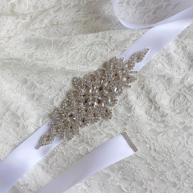 Sparkle Shiny 2017 New Fashion Luxury Wedding Belts Beaded Pearls Bridal Sash Handmade Crystal Bridal Sashes For Bridal XW33