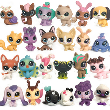 лучшая цена FGHGF LPS Pet shop Collection Figure Collie Dog Cat Bird Ribbat Animals Loose Cute Kid Toys Figure Christmas Gift For C