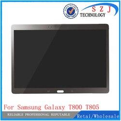 Новинка 10,5 для samsung Galaxy Tab S T800 T805 SM-T800 SM-T805 ЖК-дисплей с сенсорным экраном дигитайзер сенсор полная сборка