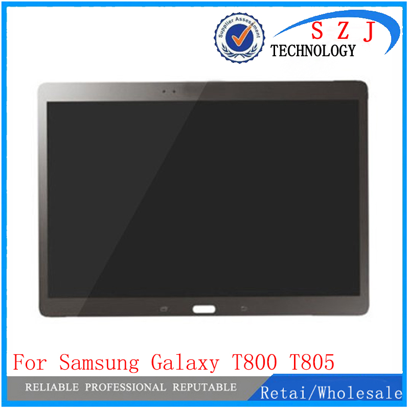 New 10.5 for Samsung Galaxy Tab S T800 T805 SM-T800 SM-T805 LCD Display with Touch Screen Digitizer Sensor Full Assembly bohemia ivele crystal подвесная люстра bohemia ivele crystal 1406 10 195 ni