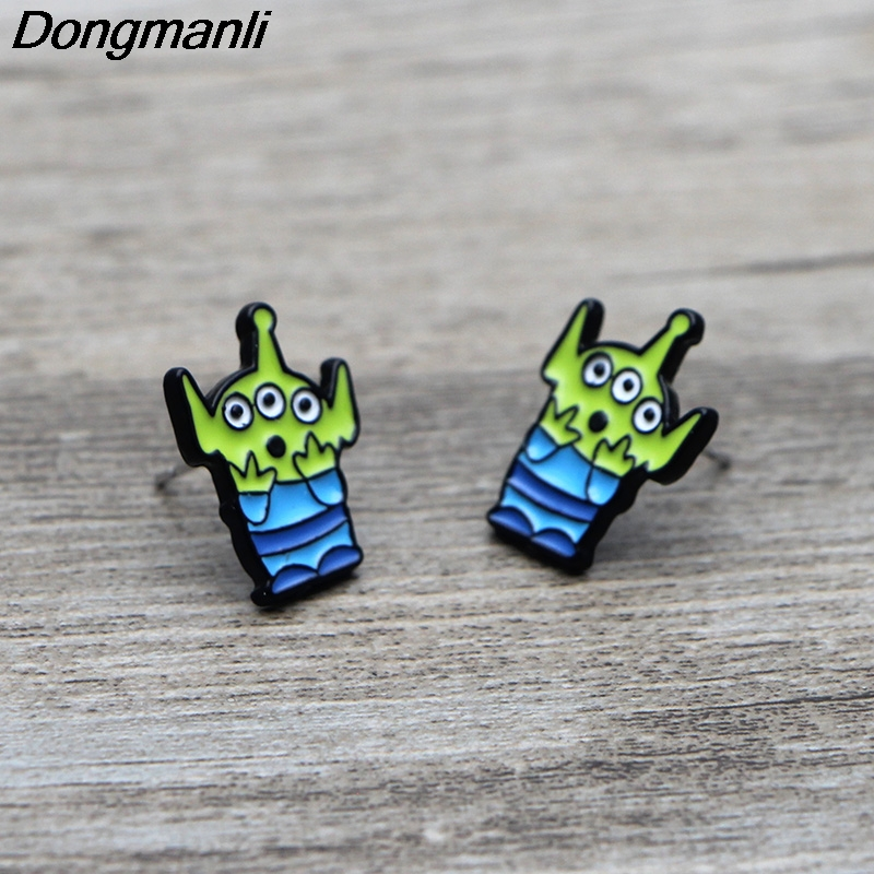 L3710 Stud Earrings For Womens Stainless Steel Pierce Earrings Jewelry Girls in Stud Earrings from Jewelry Accessories