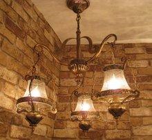 Уникальный Дизайн утюг старинные керосин подвесной светильник 3 глава столовая кулон лампы паб украшения лампы бесплатная доставка