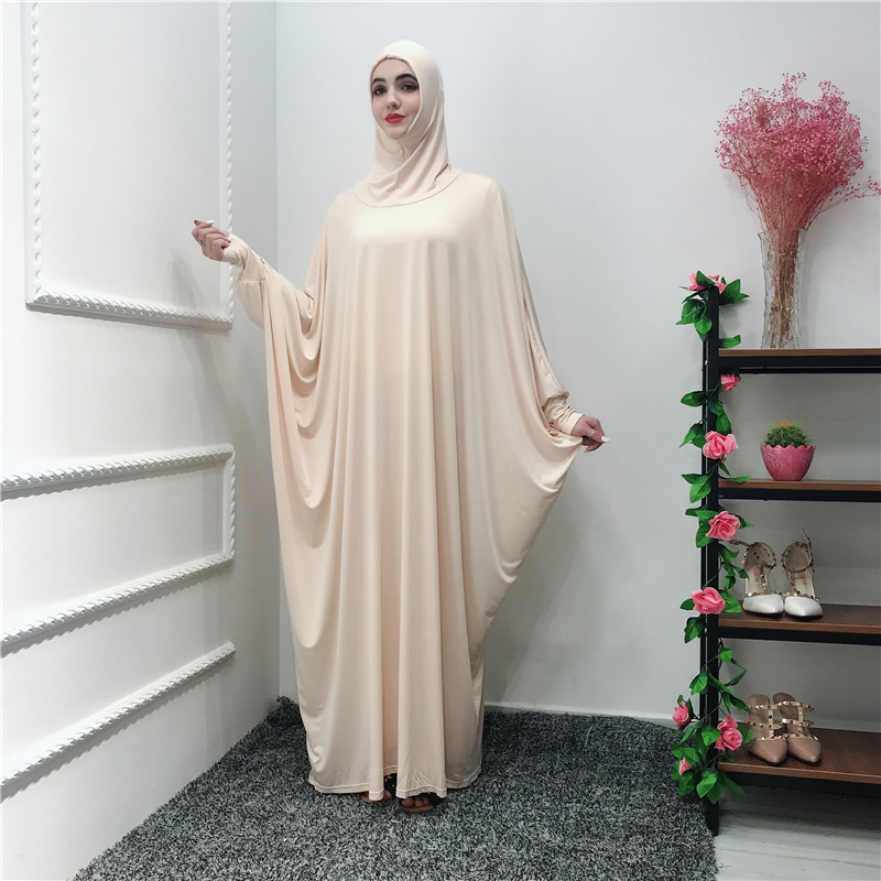 Ramadan Abaya Caftan dubaï musulman Hijab Robe Jilbab Caftan Abayas pour les femmes Ropa Oman Elbise Vestidos Robe Femme vêtements de prière