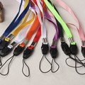 100x Lanyards Neck Strap For ID Pass Card Badge Gym Key / Mobile Phone USB Holder DIY Hang Rope Lariat Lanyard