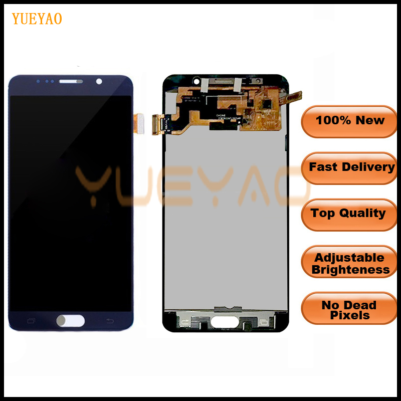 <font><b>LCD</b></font> Für Samsung Galaxy <font><b>Note</b></font> <font><b>5</b></font> <font><b>Display</b></font> <font><b>LCD</b></font> Touch Screen Für Samsung <font><b>Note</b></font> <font><b>5</b></font> Note5 N920A N9200 SM-N920 N920C <font><b>Display</b></font> image