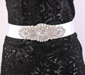 Women Belt Rhinestone Wedding Belt Pearls and Crystal Beaded Sash Belt Flower Belt Bridal Accessories WX2145