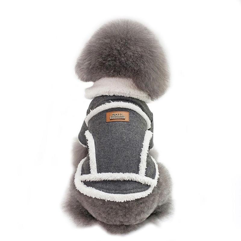 Soft Pet Dog Coat Warm Small Dog Pet Dog Cat Apperal ropa para perro S-XXL  Clothes Winter Puppy Jacket thumbnail