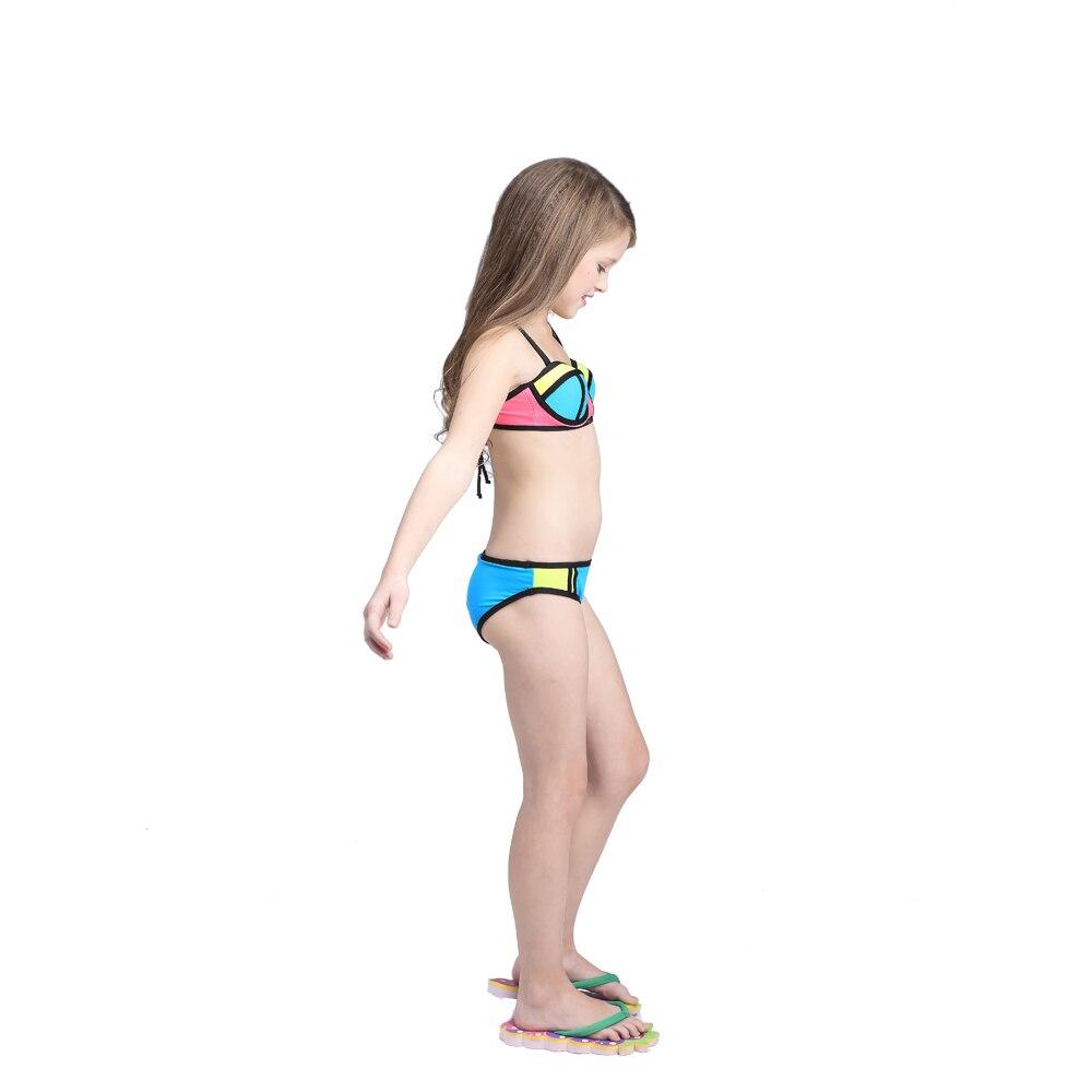 Strój kąpielowy Dla Dzieci kid 2017 Nowy Kontrast Kolor