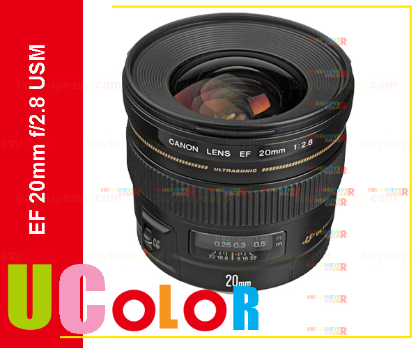 Canon EF 20mm f/2.8 USM Wide Angle Lens 80D 7D II 760D