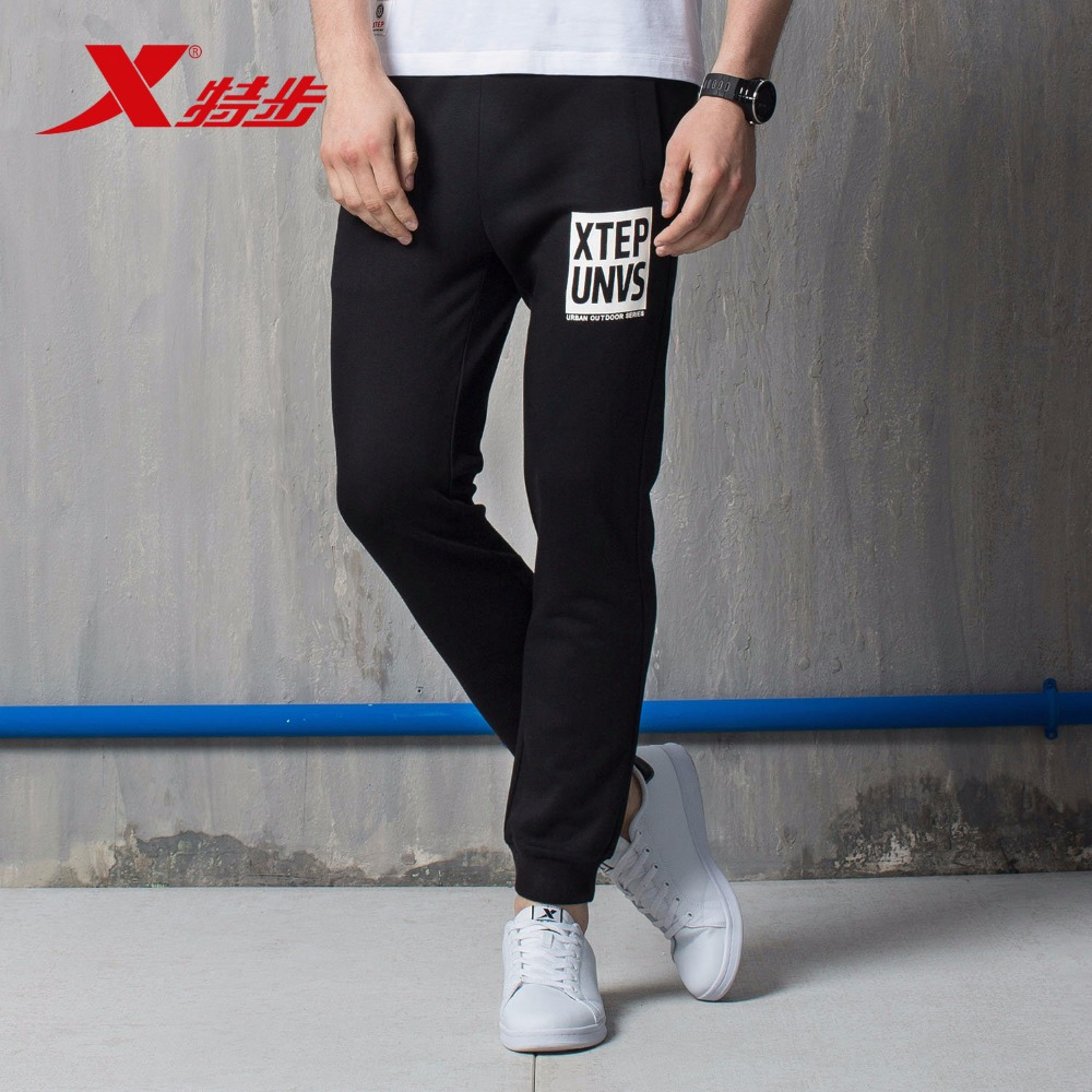 883329639265 XTEP Gym Athletic Sweatpants Fitness cool Trousers sport Running men's cotton pants