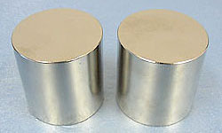 2pcs x Big Strong Magnet Cylinder 25mm x 10mm Rare Earth Neodymium Craft Model N35 ndfeb Neodymium magnets arrival 8pc 50 25 12 5mm craft model powerful strong rare earth ndfeb magnet neo neodymium n50 magnets 50 x 25 12 5 mm