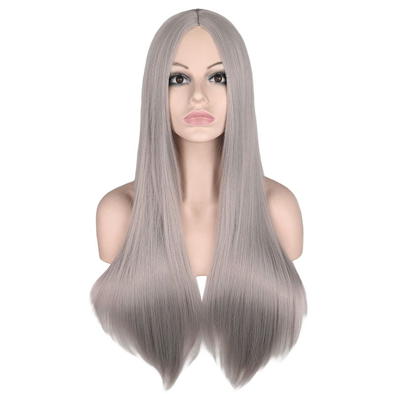› Peruca longa para mulheres, peruca de