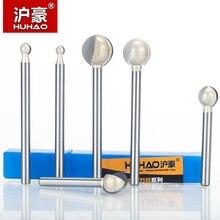 HUHAO 1pc 3mm 6mm 정강이 라운드 조각 비트 나무 CNC 목공 라운드 3D 조각 칼에 대 한 금형 CNC 비트 만들기