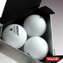 12 Balls/lot XIOM 40+ Poly 3-Star Table Tennis Balls Seamless Plastic Ping Pong Balls ITTF Approved(Hong Kong,China)