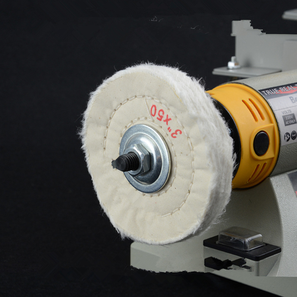 5pcs 3 Quot Polishing Wheel 3 50 White Abrasive Disc For Bench