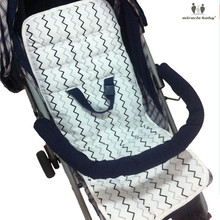 Miracle Baby Stroller Pad accessory Cotton Stroller Seat Children Trolley Baby Urine Pads Car Mat Kids Chair Cushion accessories