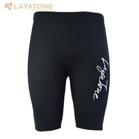 LayaTone 3MM Neoprene Wetsuits Short Men Diving Shorty Pants Surfing Snorkeling Swimming Rowing Sailing Wetsuit Short Swimwear