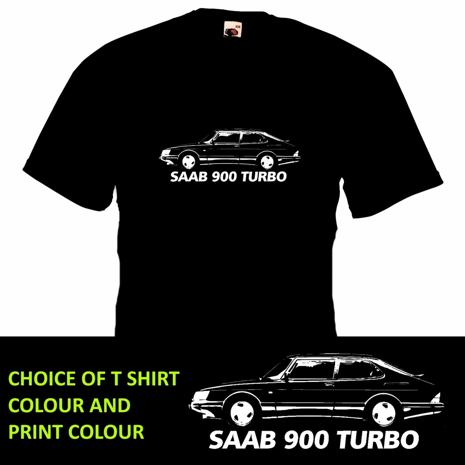 2018 New Cool Tee Shirt Britsh Classic Car 900 TURBO T SHIRT Retro Car Inspired Motoring Gift Dad Brother New Tee Cotton T-shirt