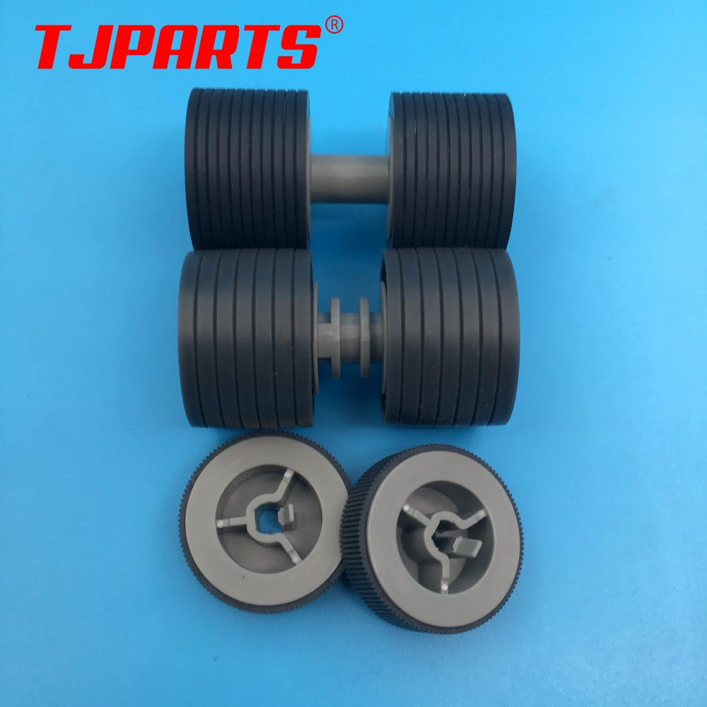 PA03575-K011 PA03575-K012 PA03575-K013 Pick Roller Set Brake Roller Separator Roller Tire Rubber for Fujitsu fi-6400 fi-6800 pa03656 e958 pa03656 e976 for fujitsu ix500 pick roller and brake roller assy