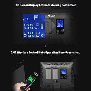 Image 4 - Viltrox VL 200T אלחוטי שליטה דו צבע Dimmable LED וידאו אור לוח 3300K 5600K 192 חרוזים canon Nikon Sony DSLR מצלמה