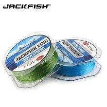 JACKFISH 300M 8 strand super strong PE Braided Fishing Line 10-80LB Multifilament Fishing Line Carp Fishing Saltwater
