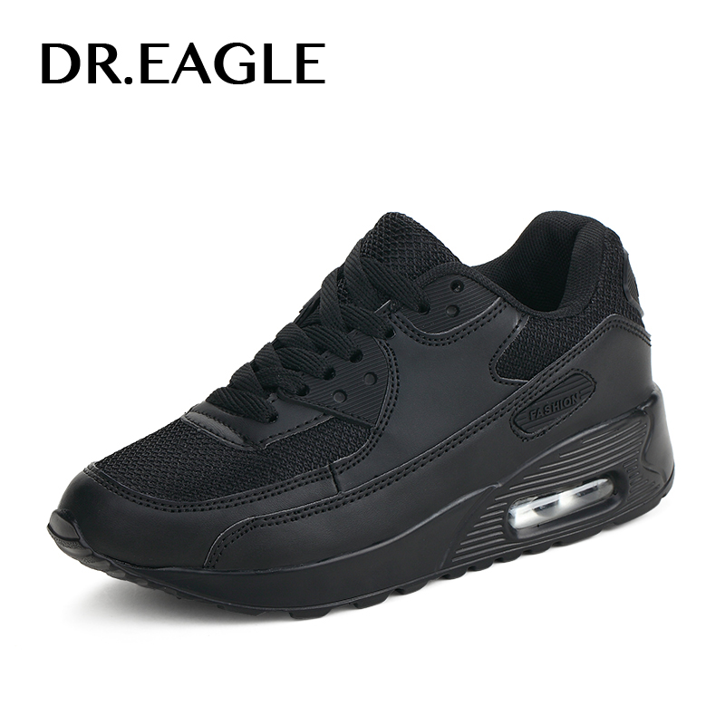 DR.EAGLE ladies shoes sports for running shoes women cushion Sneakers krasovki women Breathable Mesh sport shoes female