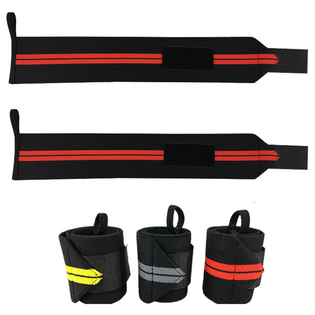 Striped Adjustable Wristbands Set