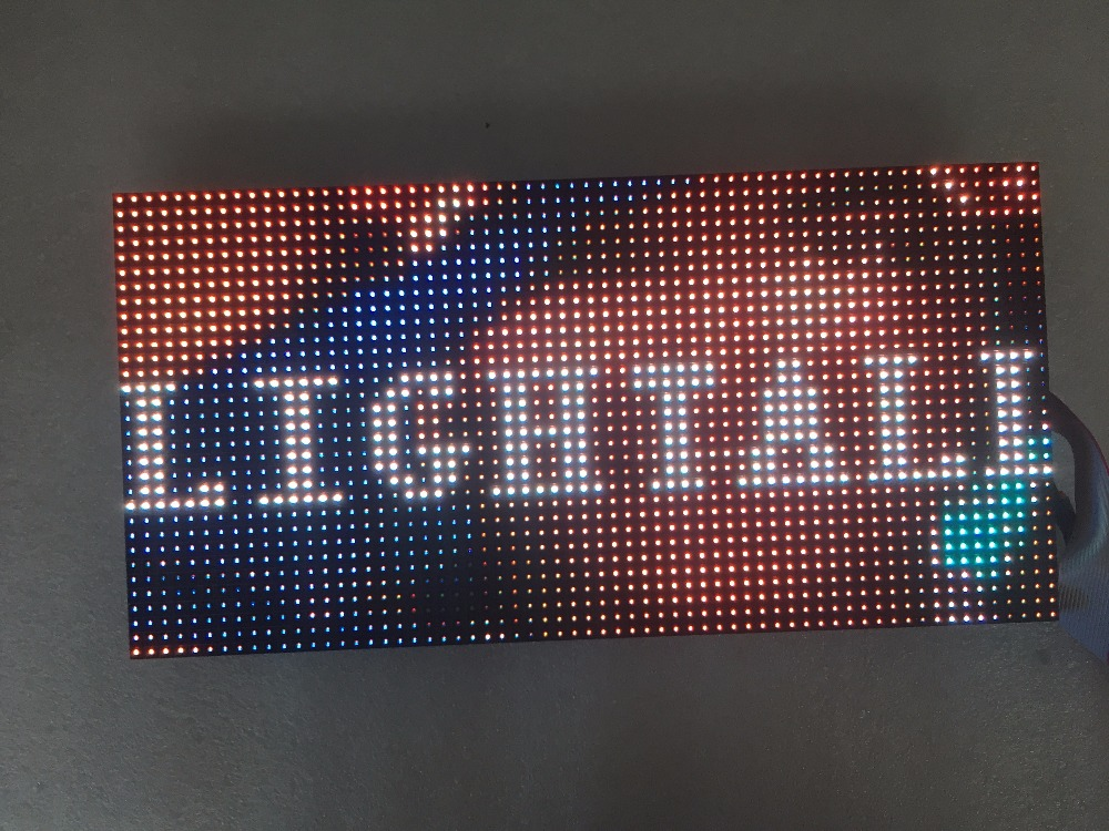P5 Outdoor Waterproof Full Color Led Display 64x32 Pixel 320x160mm Panel 1/8 Scan Smd 2727 Rgb P5 Led Module Video Wall HD Panel